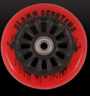 kolečko Slamm 100 mm Black/Red + ABEC 7