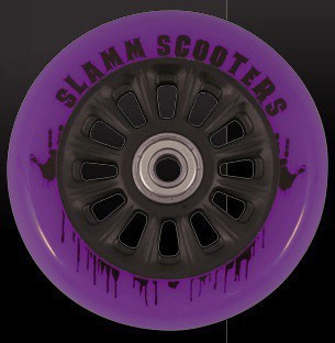 kolečko Slamm 100 mm Black/Purple + ABEC 7