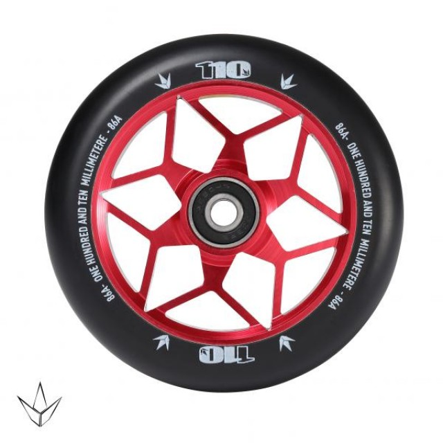 Blunt Diamond 110 Wheel Red