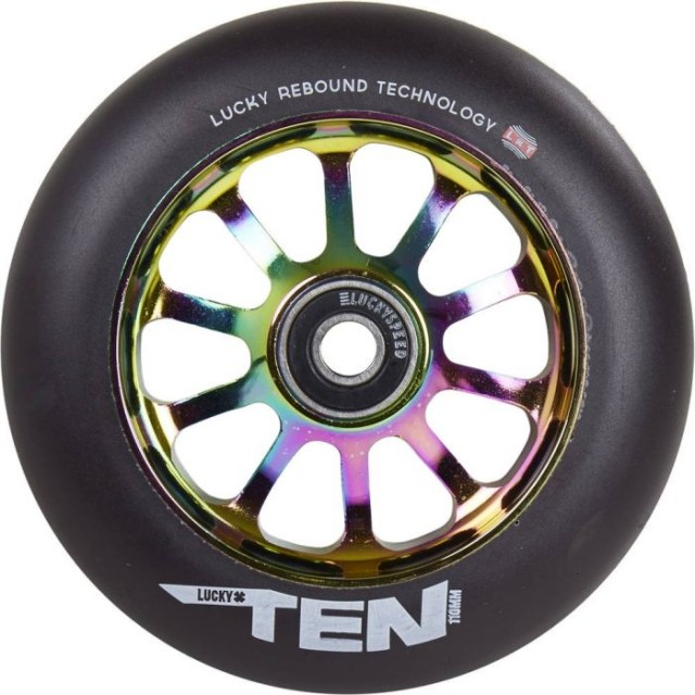 kolečko Lucky Ten 110 Wheel Neo / Black