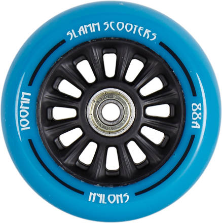 kolečko Slamm 100 mm Black/Blue + ABEC 7