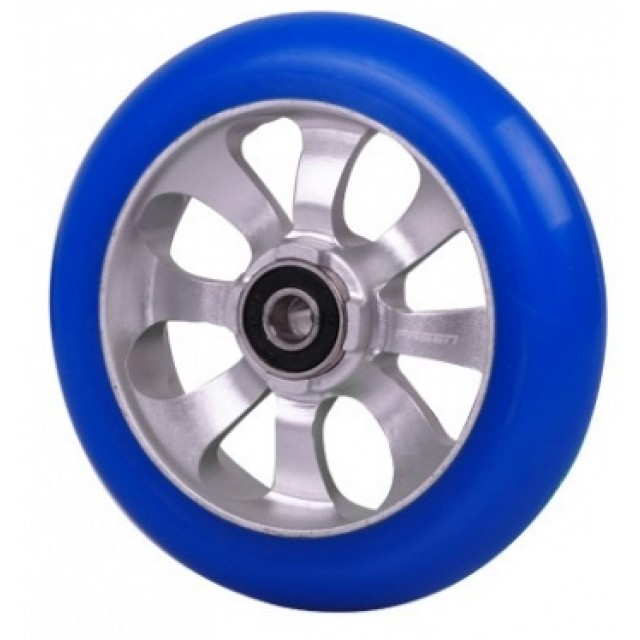 kolečko FASEN 8 spokes Raw/Blue incl. ABEC 9 bearings