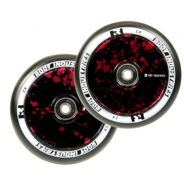 kolečko Root Industries Air Wheel 110 Red Splatter