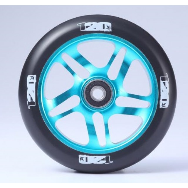 kolečko Blunt 120 mm Wheel Teal