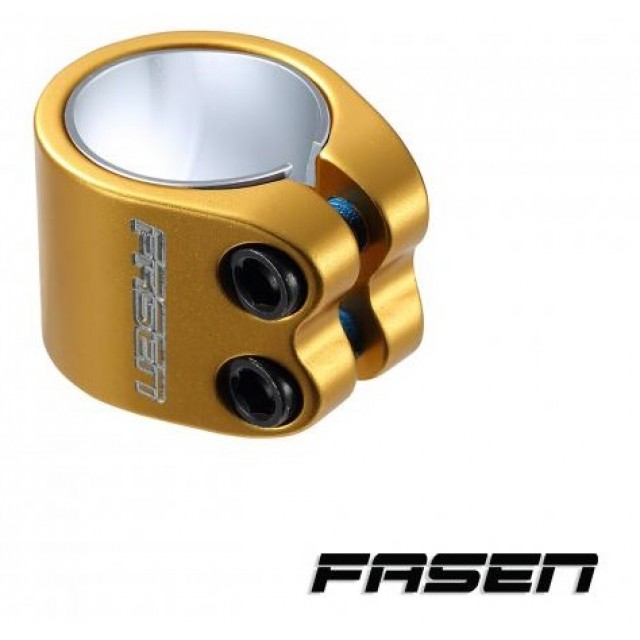 objímka Fasen Clamp 2 Bolts Gold