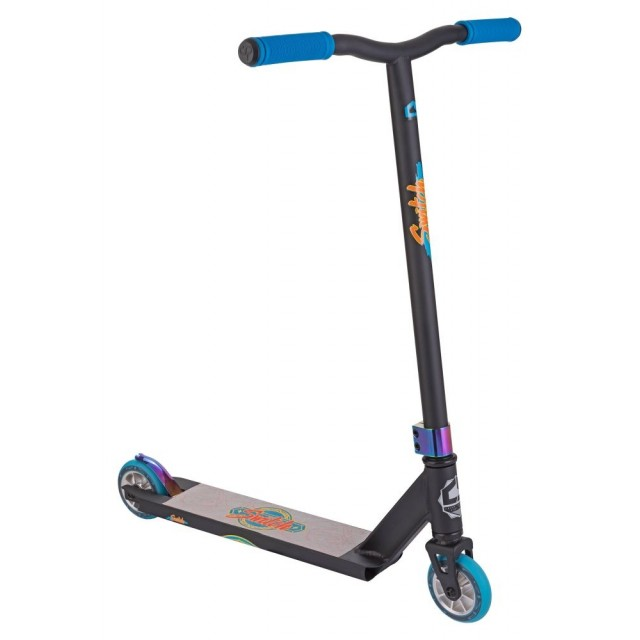 freestylová koloběžka Crisp Switch Scooter Black / Blue