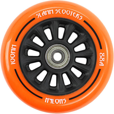kolečko Slamm 100 mm Black/Orange + ABEC 7
