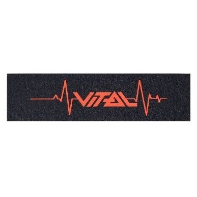 Vital Griptape Heartbeat Red