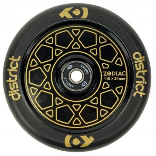 Kolečko District Zodiac 110 Black Gold