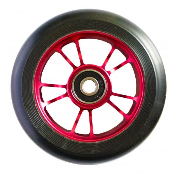 kolečko Blunt 10 Spokes 100 mm Wheel Red