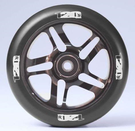 Blunt 120 mm Wheel Black Chrome