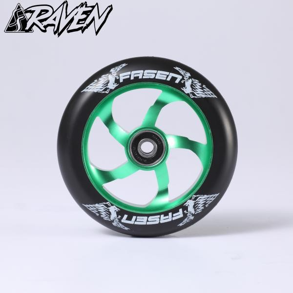 kolečko Fasen Raven 110 Wheel Green / Black