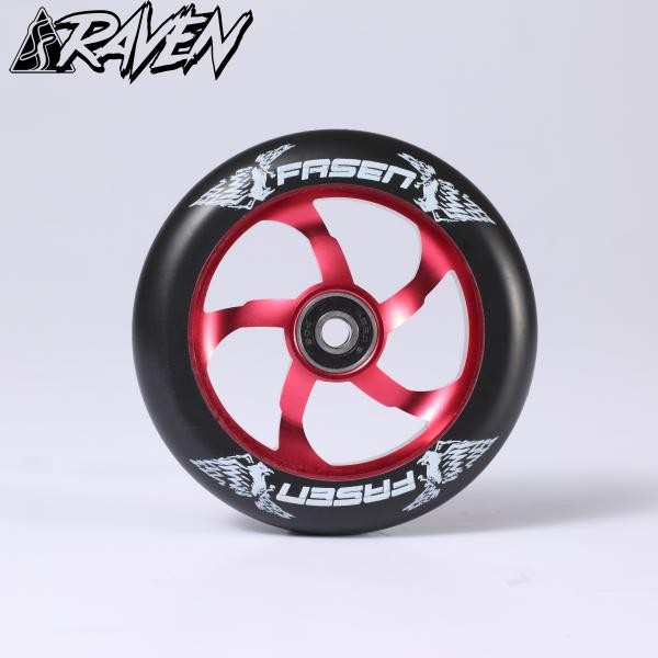kolečko Fasen Raven 110 Wheel Red  / Black
