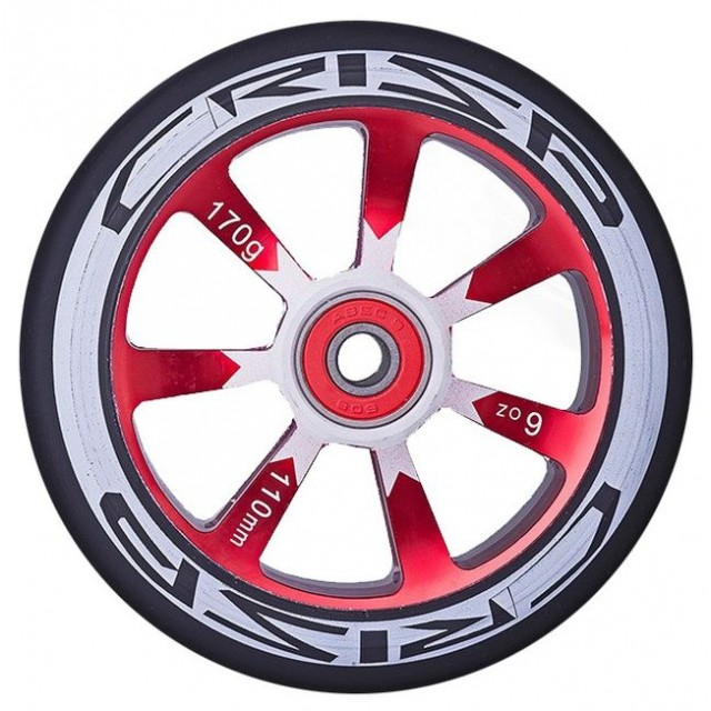 kolečko Crisp Hollowtech Wheel 110 Red / Black