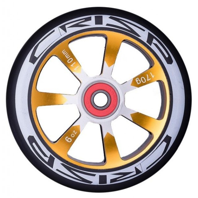 kolečko Crisp Hollowtech Wheel 110 Gold / Black