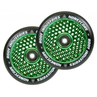 kolečko Root Honeycore Wheel 110 Green / Black