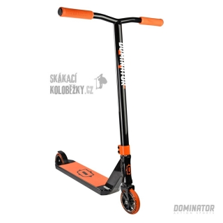 Freestyle koloběžka Dominator Sniper Black Orange
