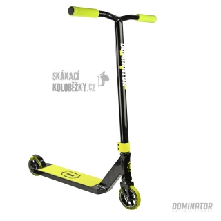 Freestyle koloběžka Dominator Sniper Black Yellow