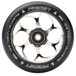 kolečko Fasen 120 mm wheel Chrome